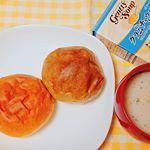 #朝ごはん 。今の季節、朝はホットミルクを飲むことが多いんですが、最近はジェントリースープ。こちらは #化学調味料不使用 ・ #香料不使用 ・ #保存料不使用 という #スープ でお味は6…のInstagram画像