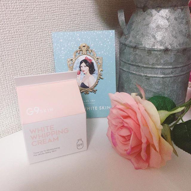 口コミ投稿:韓国発☆ウユクリーム⑅◡̈*White whipping cream¥1500ホイップクリームのようなふわふ…