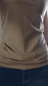 「裏起毛【ブライラズ】カップ付きインナーキャミソール tu-hacci ツーハッチ」の画像(11枚目)