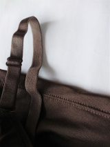 「裏起毛【ブライラズ】カップ付きインナーキャミソール tu-hacci ツーハッチ」の画像(4枚目)