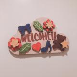「WELCOMEボード」の画像(2枚目)