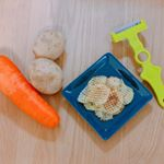 ..@nonoji.official  さまより ののじワッフルピーラーをいただきました。・*・:♪..名前のとおり、食材をワッフル状にすることの出来るピーラーで、野菜…のInstagram画像