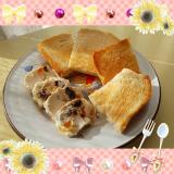 「美味しく朝食を頂きます」の画像(2枚目)