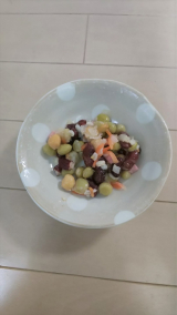 2種類のサラダ~の画像(4枚目)