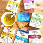 ..ジェントリースープ6種🍽コーンポタージュオニオンスープキノコのポタージュトマトポタージュクラムチャウダーポタージュパンプキンポタージュ .化学調味料不使用・香料…のInstagram画像