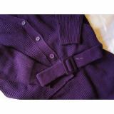 【CODE】titivate カーディガン×ベルト付スカート セットアップの画像(4枚目)
