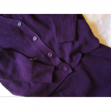 【CODE】titivate カーディガン×ベルト付スカート セットアップの画像(3枚目)