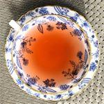 ・ローズハーブティーで優雅にお茶タイム🌹と、したいとこだけど人生史上最悪の体調不良によりインスタ放置気味💨🏥点滴しに送り迎えしてもらう生活4日目…ご飯食べられなくなりウィダーインゼ…のInstagram画像