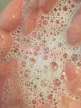 手作りオーガニック洗顔石鹸ラベンダーハニーの画像(13枚目)