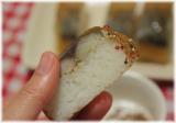 桜チップ香る!オリーブオイルかペッパーで召し上がる洋風鯖寿司!!の画像(7枚目)