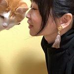 ・・・タッセル大好きな私の為の‼️イヤリング❤️❤️❤️❤️・@naturalcouture_official 500円アクセのフリンジ大人イヤリング❤️・ヤバ…のInstagram画像