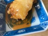 鎌田醤油のかつおだしの中濃ソースでとり天とそばめし食べましたの画像(5枚目)