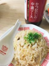 鎌田醤油のかつおだしの中濃ソースでとり天とそばめし食べましたの画像(7枚目)