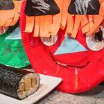 ☆我が家の恵方巻きうなぎのようでうなぎじゃない魚のすり身で作ったうなる美味しさうな次郎を使って作りました!きゅうりとかいくらとか入れて豪勢に彩りよく作りたかったけど……のInstagram画像