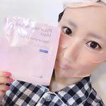 プラセンタ ヒアルロン.マスク✨厚手で顔の隅々まで覆えるマスクシートで良い💕プラセンタとヒアルロン酸が配合されているので、乾燥肌や小じわに効果がありそう😆使用後はもっちり肌に💖…のInstagram画像