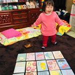 2月4日で1歳6ヶ月になりました\( ˆoˆ )/フェリシモさんからマタニティ記録用のカードを頂きました💖1/2monthのカードもあって嬉しいね😆次の子が産まれたらコレを使ってインスタに…のInstagram画像
