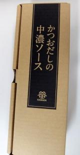 「<monitor>鎌田商事 かつおだしの中濃ソース」の画像(1枚目)