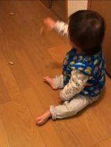 「1歳4ヶ月  たっちの練習(自主トレ)と欲しいもの」の画像(2枚目)