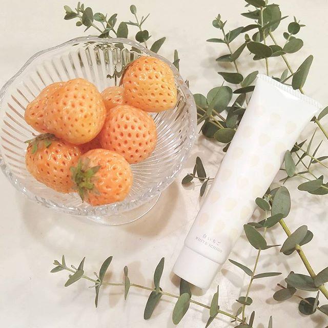 口コミ投稿:・・見て見て~🤗💕珍しい#白いちご タカシマヤで見つけたから買っちゃった✨白いけどすご…