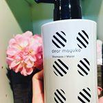 dear mayukoのセリシン配合シャンプーがいい感じ❤泡立ちがよくて弾力性のある泡質。しっとりとした洗いあがりがお気に入り♩¨̮#dearmayuko #skincare #seric…のInstagram画像