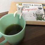 ホット青汁始めませんか☺︎この時期冷たいのは冷えちゃうから.こちら💁♀️ホットでも美味しく飲めちゃう「オーガニックフルーツ青汁」✧ホット青汁でほっこりします♨️しぃちゃんも青汁に興味を持…のInstagram画像