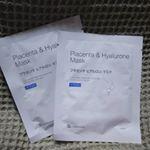 #ビービーラボラトリーズ さんの #プラセンタヒアルロンマスク をお試ししました❤️ 出してみるとびっくり👀ピンクのシートマスク✨椿オイル配合のピンク色シートに美容液約1本分(27mL)が含ま…のInstagram画像