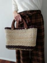 フィリピン製手作りかごバッグで一足早く春・夏気分!の画像(4枚目)