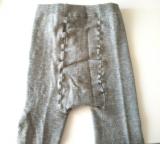 超暖かくておしゃれな、シャルレのウールスパッツタイツの画像(3枚目)