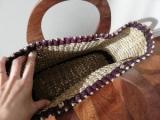 フィリピン製手作りかごバッグで一足早く春・夏気分!の画像(3枚目)