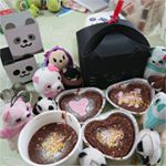 今日は、バレンタインなので、親友と妹とお菓子作りをしてきました(*^¬^*)💕 私は大切な人や実家の家族に…💝いらないと言われた人にはあげません(笑)ハートのフォンダンショコラやスコーン作…のInstagram画像