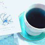 就寝前にハーブティーを飲んでリックスする時間が幸せです☺️♡バタフライピーブルーティーは青い色の鮮やかな色あいが神秘的で綺麗でミステリアスな存在のハーブティー。アントシアニンの青です。レモング…のInstagram画像