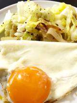 「☆朝ごはん☆目玉焼きと野菜炒め@GABANブラックペパー」の画像(5枚目)