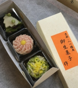 和菓子作り体験 in 京都の画像(1枚目)