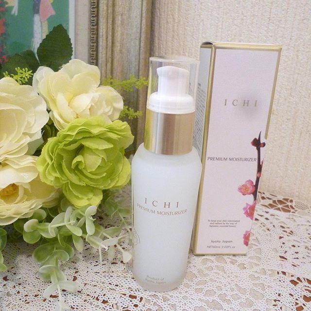 口コミ投稿:京都発祥の自然派和コスメ「ICHI化粧品」のICHIプレミアムモイスチャライザーを使っ…
