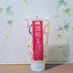 #杜氏の手は美しい…と言う言い伝えに着目した#熊本県河津酒造🍶酒粕由来エキス配合の洗顔料を試してみました✨**もっちりクリーミーな泡○o。.とコメ粉のスクラブが、くすみや毛穴汚れを洗い…のInstagram画像