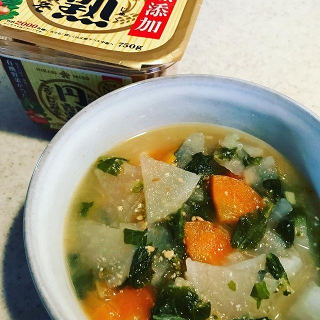 口コミ投稿:美味しいお味噌に出会いました。お味噌汁はもちろん、焼き物や炒め物にも使ってます…