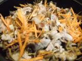 節約ワンパン♬豚小間と乾物の炒め煮の画像(1枚目)