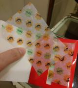 ◎韓国コスメブランド【ホリカホリカ】×ペコちゃんとコラボ!あぶら取り紙がミルキー柄で可愛い◎の画像(2枚目)