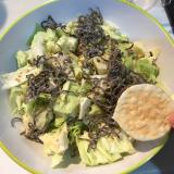 もち吉●うす焼サラダの画像(3枚目)