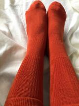 おもちのように粘り強くおもちのようにあたたかくやわらかい靴下♡の画像(1枚目)