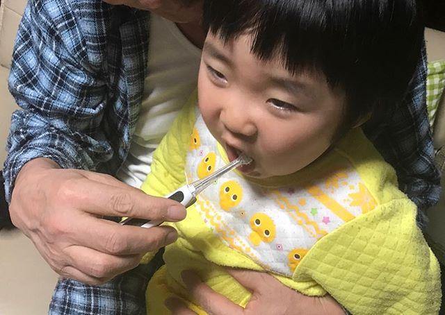 口コミ投稿:マイナスイオンの力で歯垢除去をして、歯をツルツルにしてくれる#キスユー の子供…