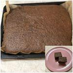 ののじサラダおろしで削ったチョコを使ってブラウニー 🍀力の入りやすいグリップ🍀ピタっととまるストッパーヘッド🍀どこでも使える専用トレイ粗めと細かめ1つで二役❣️♡マークが粗めの目印…のInstagram画像