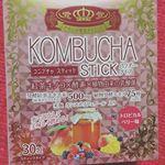 ユーワ様のKOMBUCHA STICKを頂きました。モンゴル発祥のコンブチャは日本では『紅茶きのこ』と呼ばれ、ロシアではよく飲まれている発酵飲料で、紅茶や緑茶に砂糖を加え、菌を加えて発酵させた…のInstagram画像