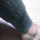 この時期大活躍のレギンス シャルレの厚手のウール混スパッツの画像(2枚目)
