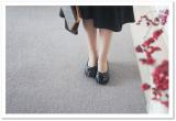 外反母趾でも安心フィット☆AKAISHI*139パンプスクロスギャザー*の画像(5枚目)
