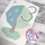 とてもかわいいマンスリーフォトカードセットforマタニティー&ベビーを使用しました💓💓 どれもイラストがかわい😊💓毎月使っていこうと思います😊✨✨ #マタニティ #フェリシモマタニティ #フェリシ…のInstagram画像