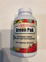 75種類の栄養素配合★グリーンパックの画像(1枚目)