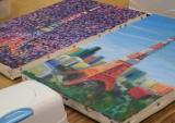「口と足で描いた絵【春休みの特別課外授業】に参加させて頂きました!」の画像(10枚目)