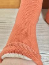 【当選】温むすび さまより 内側シルクの二重編み靴下 が届きました。の画像(3枚目)