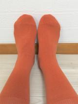 【当選】温むすび さまより 内側シルクの二重編み靴下 が届きました。の画像(4枚目)